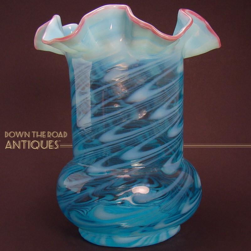 vases small glass aqua dollie by blue cyan vase design
