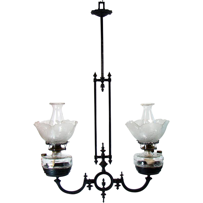 Awesome Fancy Lighting Iron Hanging Light Fixture S Victorian R With Lantern Clipart Png