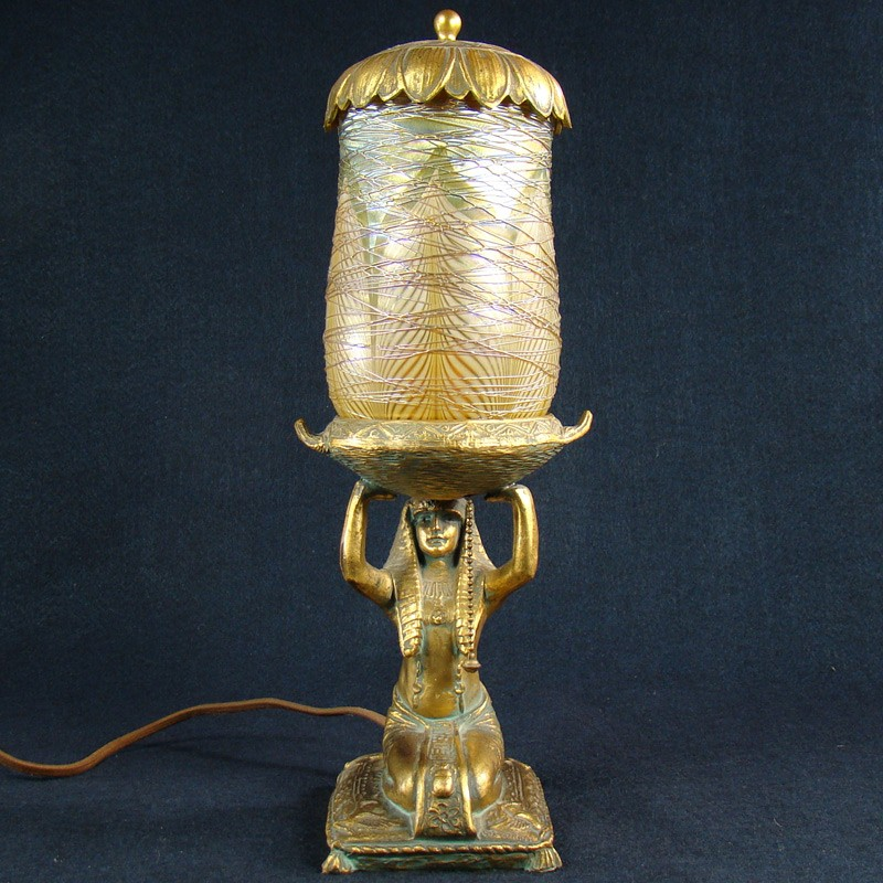 lustre art egyptian perfume lamp dtr antiques. Black Bedroom Furniture Sets. Home Design Ideas