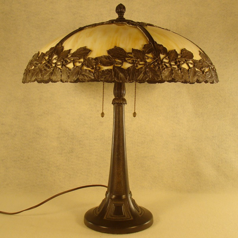 Bradley Amp Hubbard Arts Amp Crafts Table Lamp Dtr Antiques