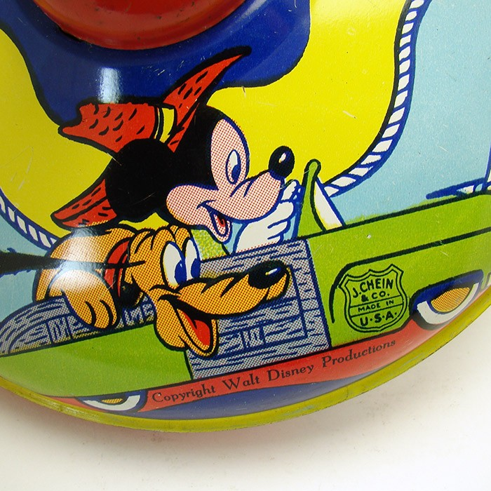 Walt Disney Spinning Top Toy