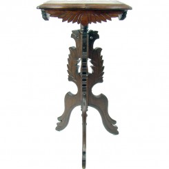 Fancy Victorian Walnut Fern Stand - 1890's