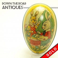Lithographed Chein Tin Easter Egg