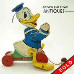 Fisher Price Donald Duck Pull-toy - Walt Disney Productions
