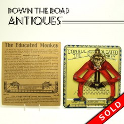 Consul The Educated Monkey calculator toy educational tool with instructions