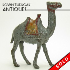 Cast Iron Camel Bank by A. C. Williams
