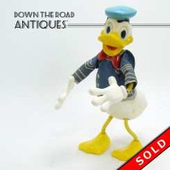 Marx Donald Duck Bendy Toy - Walt Disney Productions