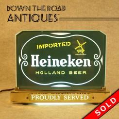 Heineken Advertising Bar Light