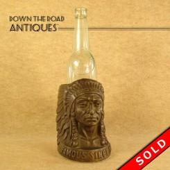 Iroquois Beer Bottle Advertisement Display