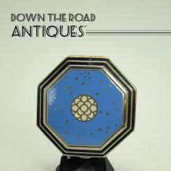 Richard Hudnut Cloisonne Compact - Art Deco