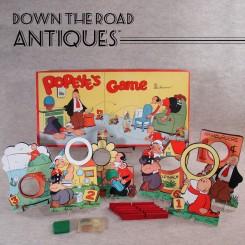 Parker Bros. Popeye's Game - Tiddlywinks - 1948