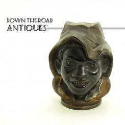 Two-Faced Cast Iron Black Boy Bank - Black Memorabilia