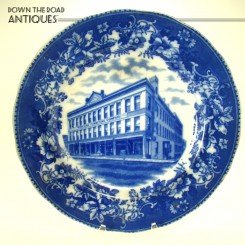 Flow Blue Advertising Plate from Winegar Furniture Company of Grand  Rapids, MI - 1890's