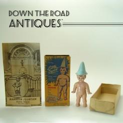 Little Squirt Mannekin Fountain Novelty Toy - 1960's