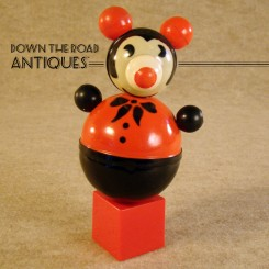 Celluloid Mickey Mouse Roly-Poly Toy