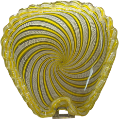 Fratelli Toso Murano Glass Vanity Bowl - 1950's