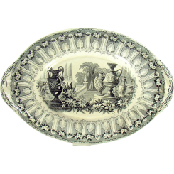 Transferware Staffordshire Tray - 1880's