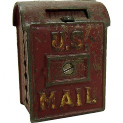 U.S. Mail Cast Iron Still Bank