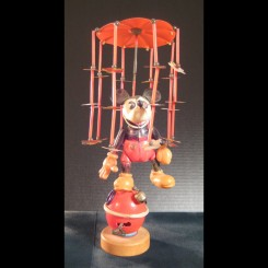 Early Disney Mickey Mouse Whirligig Wind-up Toy