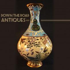 Japanese Cloisonné Vase - 1890's