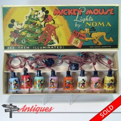 Mickey Mouse Noma electric lights by Walt Disney Enterprises, mint in the box