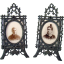Cast Bronze Easel-Back Picture Frames - 1880's