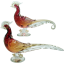 Alfredo Barbini Murano Art Glass Birds Sculptures (Pair)