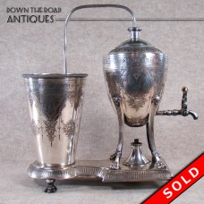 Silver Plated Coffee Machine - 1880 Victorian (SOLD)