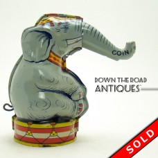 Chein Tin Elephant Mechanical Bank - Near Mint (SOLD)