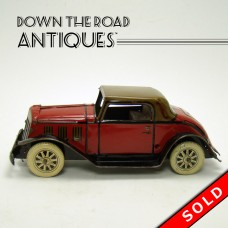 Marx Tin Landau Coupe Car Wind-up Toy - 1930's (SOLD)