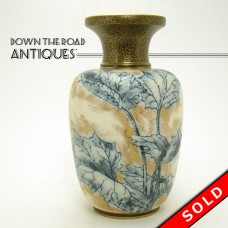 Royal Dalton Porcelain Burslem Tapestry Vase - Early 1900's (SOLD)