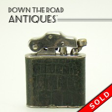 Norton Leather-Wrapped Lighter - 1920's (SOLD)