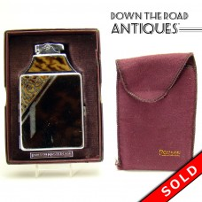 Ronson Mastercase Tortoiseshell and Chrome Cigarette Case and Lighter Combination (SOLD)