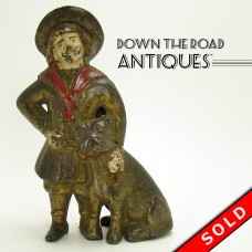 Buster Brown and Tige Cast Iron Bank by A. C. Williams (SOLD)