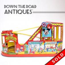 Disneyland Roller Coaster Tin Wind-up Toy - J. Chein (SOLD)