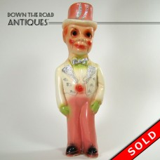 Charlie McCarthy Carnival Chalkware Figure - Mint (SOLD)