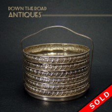 Sterling Coaster Set with Stand - 1910 (SOLD)