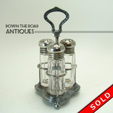 Silver Plated Condiment Set from the Annex Hotel - Pittsburgh, PA (SOLD)