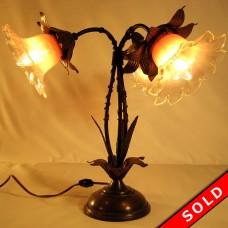 Bradley & Hubbard Three-Arm Floor Lamp - All Original (SOLD)