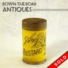A & P Mustard Advertising Tin - Sultana Spice Mills (SOLD)