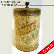 Coffee Tin with Historical Boston Landmarks - 1890 (SOLD)
