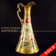 Hand-Painted Nippon Porcelain Ewer (SOLD)