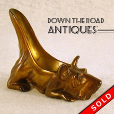Ronson Scottie Dog Pipe Holder (SOLD)