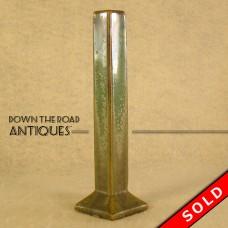 Fulper Pottery Square Crystalline Bud Vase (SOLD)