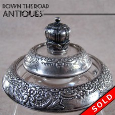 Frank Whiting Sterling Ashtray and Lighter - 1930's (SOLD)