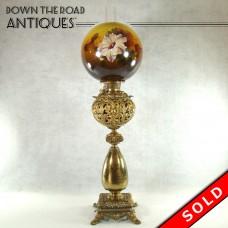 Huge Bradley & Hubbard Banquet Lamp - All Original - 1880's (SOLD)