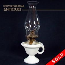 Adams & Company Kerosene Finger Lamp - 1870's (SOLD)