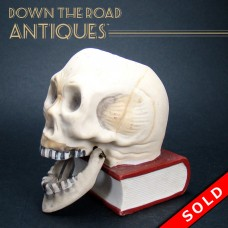 Bisque Skull Match Striker with Flapping Jaw (SOLD)