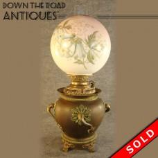Miller Banquet Oil Lamp - 1880's (SOLD)