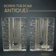 Walther Kristallglas Glass Bud Vases
